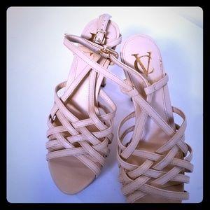 Nude Platform sz 37 VC sandals